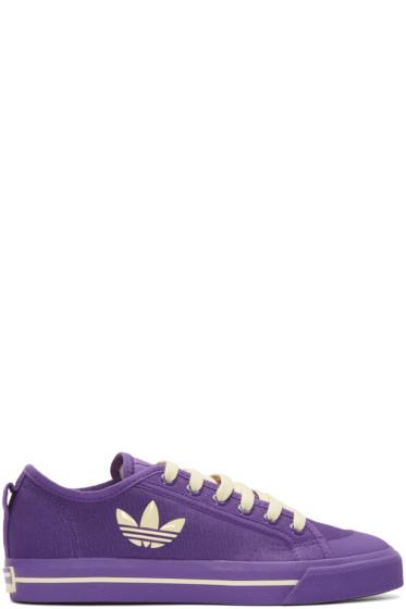 Raf Simons - Purple adidas Edition Matrix Spirit Low Sneakers