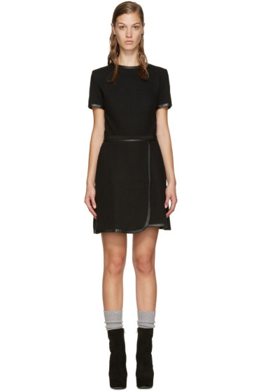 Carven - Black Wool Dress