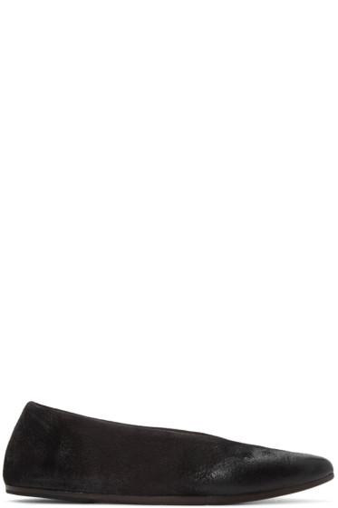 Marsèll - Black Questa Lucio Vanotti Edition Ballerina Flats
