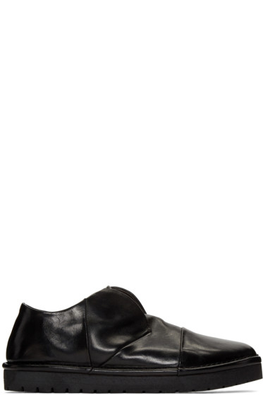 Marsèll - Black Gomma Sancrispa Alta Slip-On Loafers