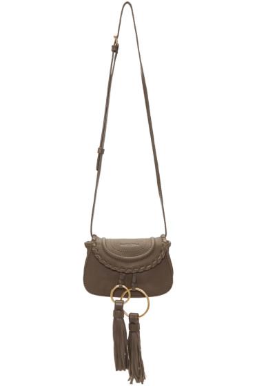 See by Chloé - Taupe Mini Tassel Bag