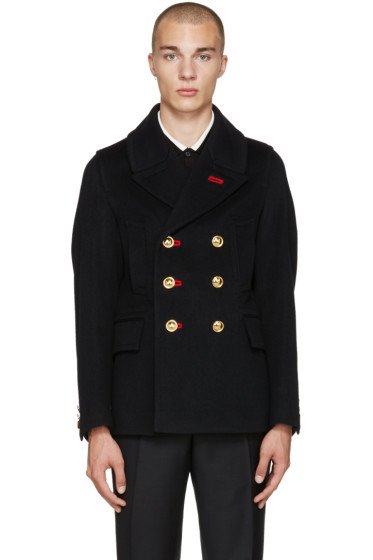 Burberry - Navy Military Peacoat