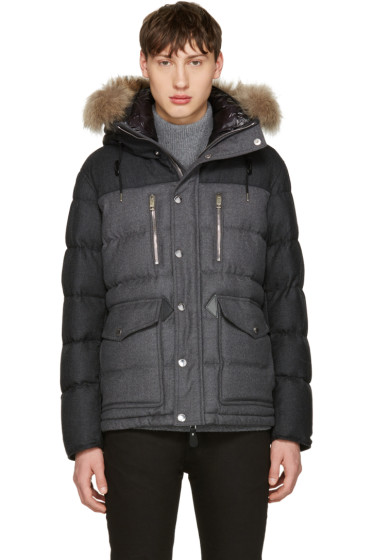 Burberry - Grey Down Leyton Jacket