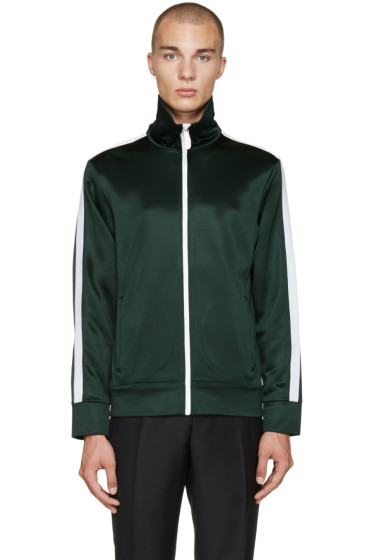 Burberry - Green Track Sweater