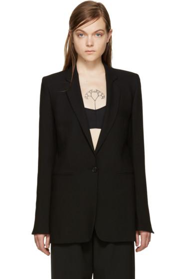 Ann Demeulemeester - Black Wool Blazer