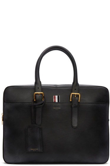 Thom Browne - Black Business Day Briefcase