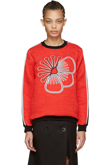 Kenzo - Red Athletic Tanami Pullover