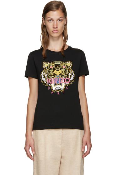 Kenzo - Black Tiger T-Shirt