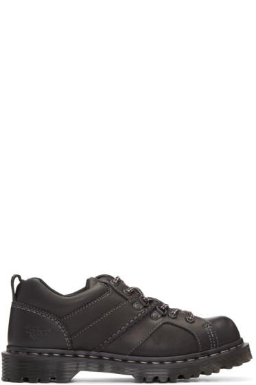 Dr. Martens - Black Finnegan Shoes