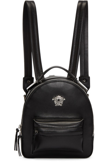 Versace - Black Medusa Mini Backpack