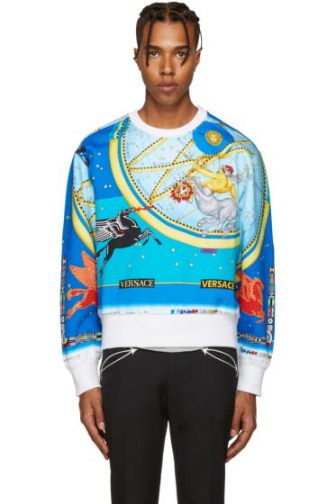Versace - Multicolor Space Pullover