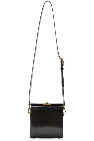 Simone Rocha - Black Leather Box Bag