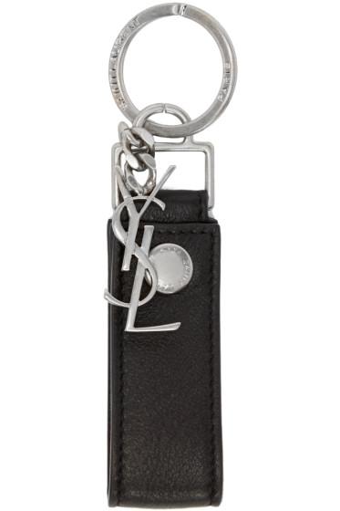 Saint Laurent - Black Rider Key Chain