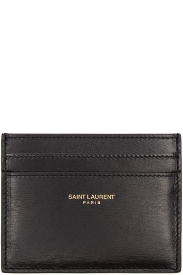 Saint Laurent - Black Classic Card Holder