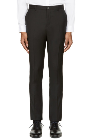 PS by Paul Smith - Black Slim-Fit Trousers
