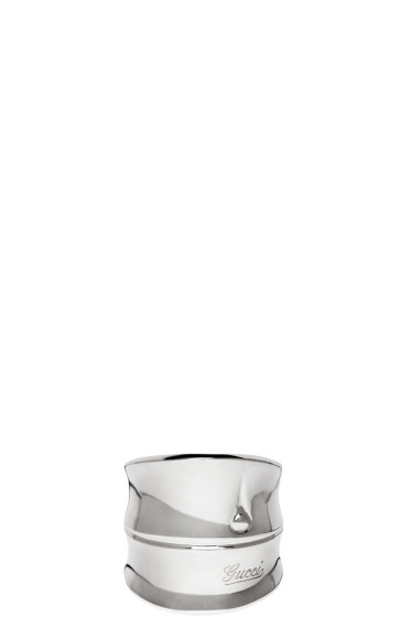 Gucci - Silver Bamboo Ring