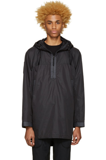 Nanamica - Black Hooded Parka