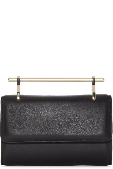 M2Malletier - Black Leather Mini Fabricca Shoulder Bag