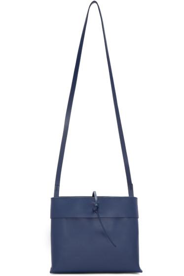 Kara - Navy Tie Bag