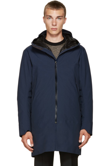 Arc'teryx Veilance - Navy Monitor Down Coat