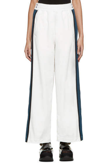 Facetasm - White Tearaway Lounge Pants