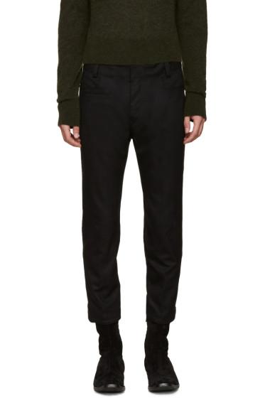 Haider Ackermann - Black Wool Coco Trousers