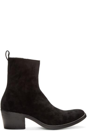 Haider Ackermann - Black Suede Chelsea Boots