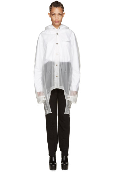 Hood by Air - Clear PVC Brett Jacket