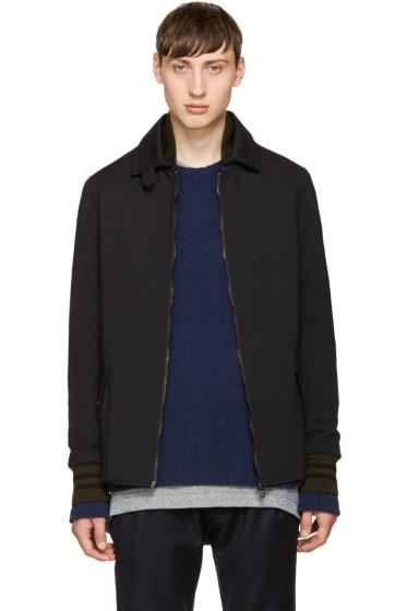 Giuliano Fujiwara - Black Zip-Up Jacket