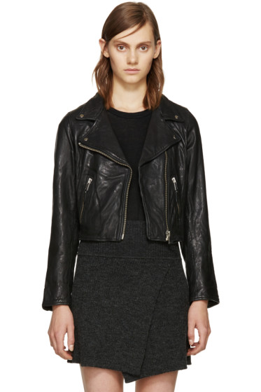 Isabel Marant Etoile - Black Barry Biker Jacket