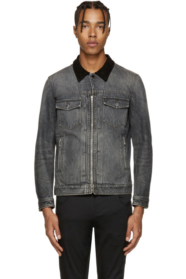 Diet Butcher Slim Skin - Black Denim Jacket