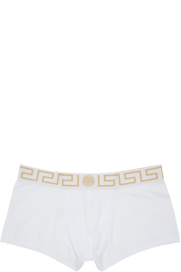 Versace Underwear - White Boxer Briefs Two-Pack