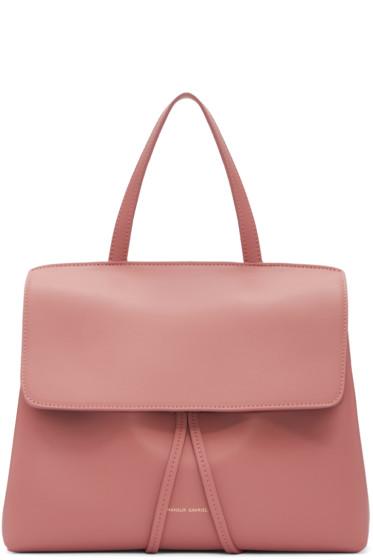 Mansur Gavriel - Pink Leather Mini Lady Bag