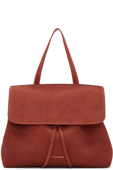 Mansur Gavriel - Red Suede Mini Lady Bag