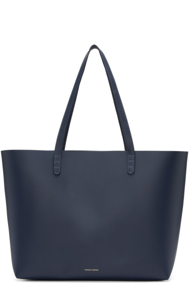 Mansur Gavriel - Navy Leather Large Tote