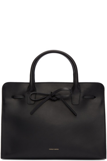 Mansur Gavriel - Black Leather Sun Tote