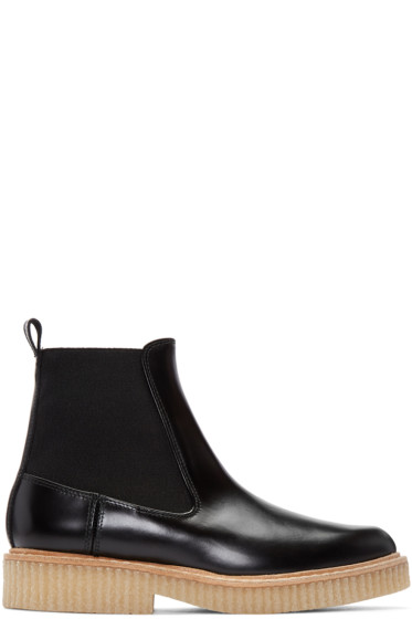 Flamingos - Black Baker Ankle Boots
