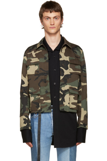 Vetements - Green Camo Gun Club Jacket