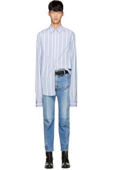 Vetements - Blue Striped Shirt