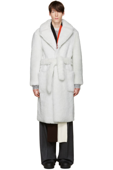 Fendi - Off-White Shearling Jacket