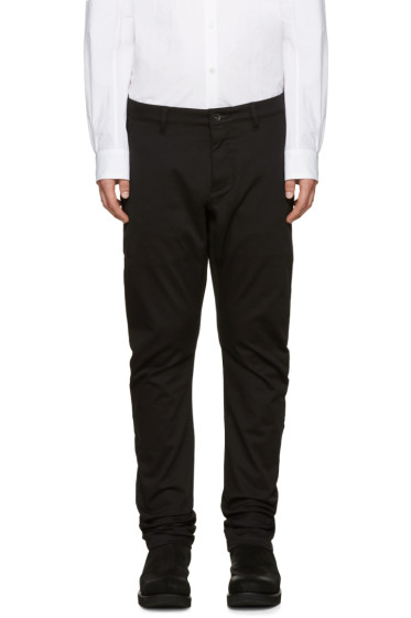 Attachment - Black Cotton Trousers