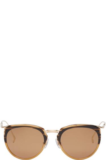 Issey Miyake Men - Brown Boston Sunglasses