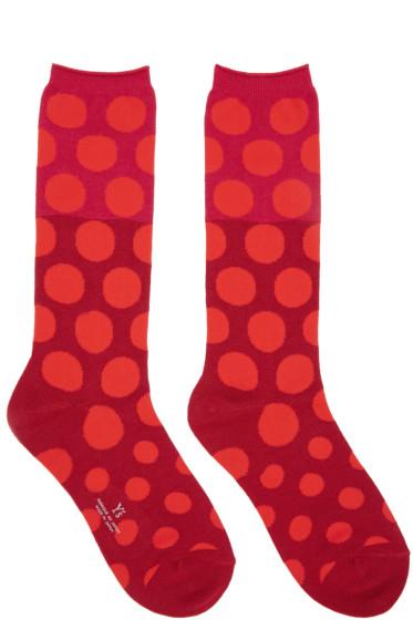 Y's - Red Dot Socks