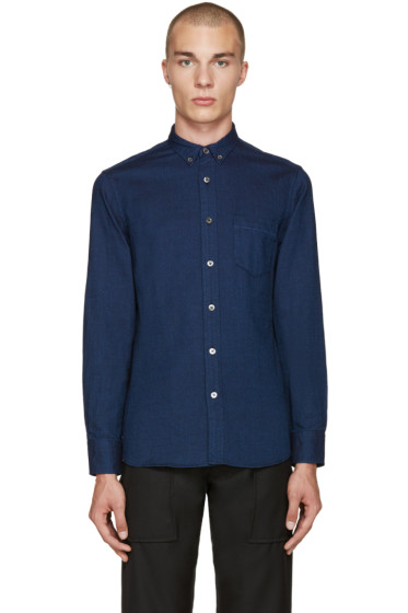 Blue Blue Japan - Indigo Dobby Shirt
