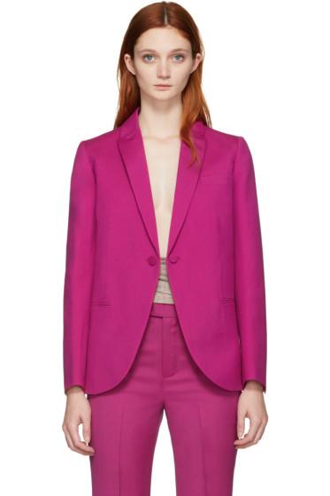 Ports 1961 - Pink Wool Tuxedo Blazer
