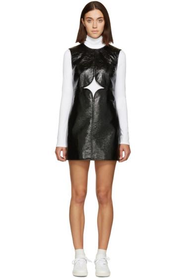 Courrèges - Black Cut-Out Dress