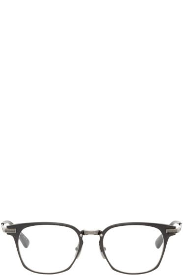 Dita - Black & Gunmetal Union Glasses