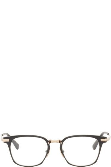 Dita - Black & Gold Union Glasses