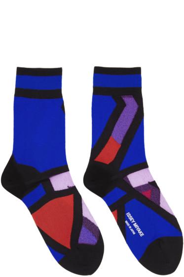 Issey Miyake - Blue Ray Socks