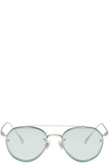 Gentle Monster - Blue Debby Sunglasses